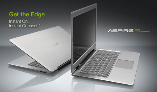 Acer notebook ad