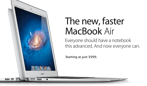 Apple notebook ad