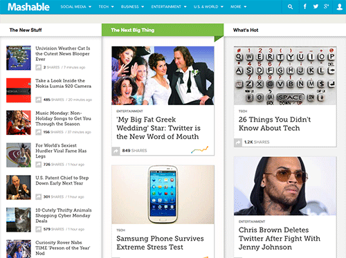 Redesign Trend in Tech News Sites · The Usability Post